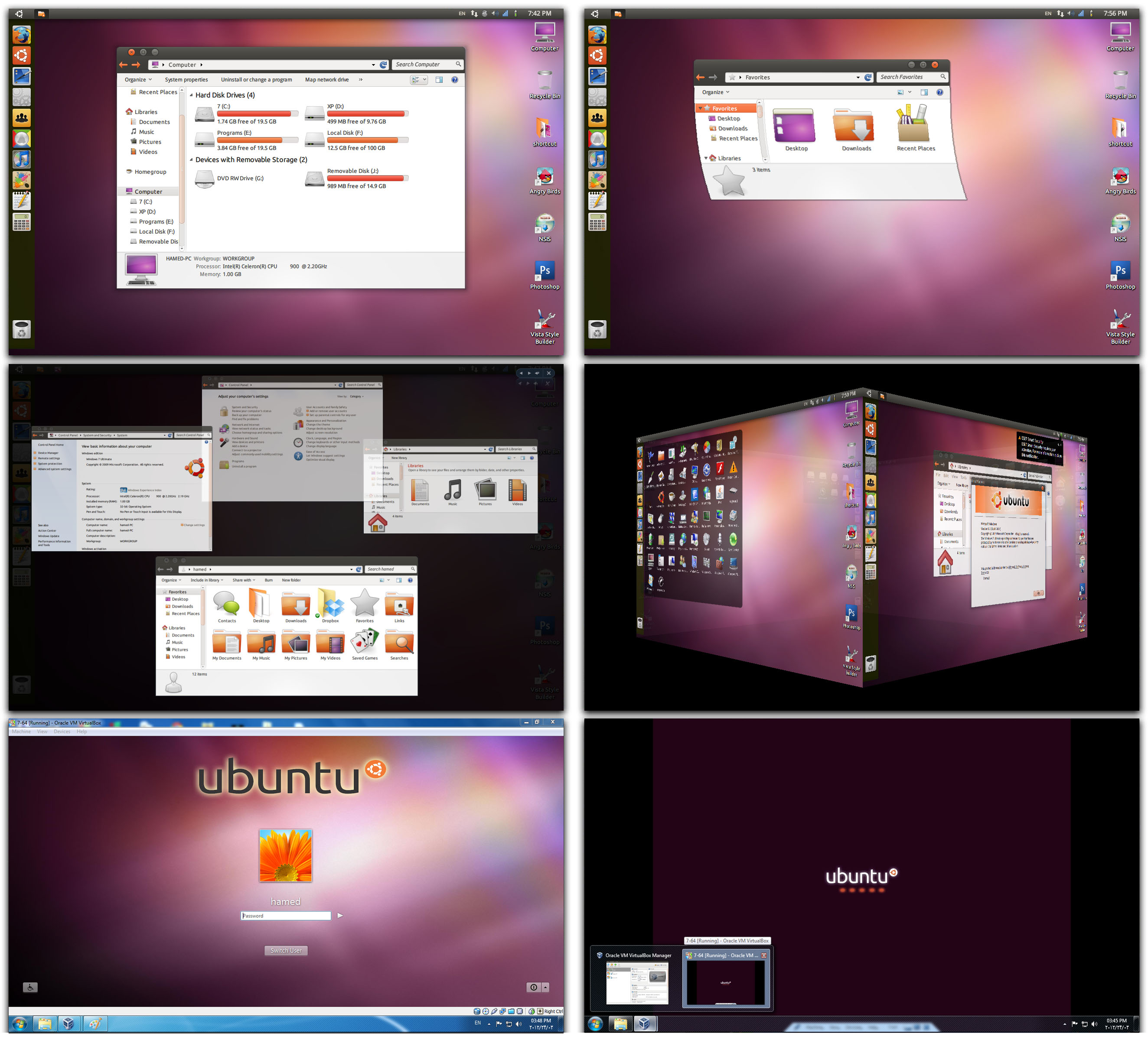 Download Ubuntu Skin Pack 9.0 For Windows 7 64 Bit