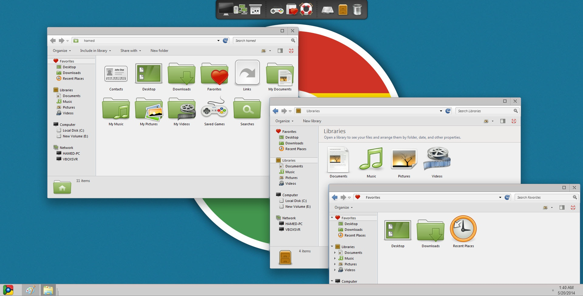 Chromium SkinPack 2.0 for Win8/8.1/7 released