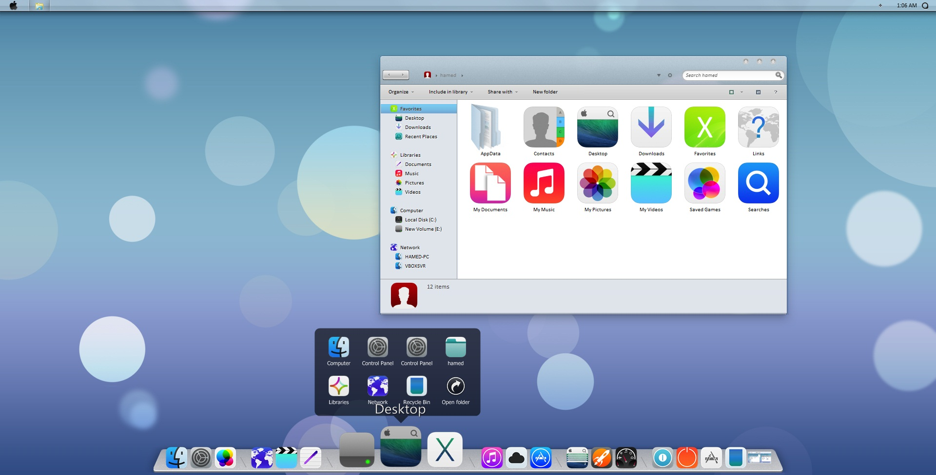 iOS7 SkinPack 3.0 for Win8/8.1/7 released