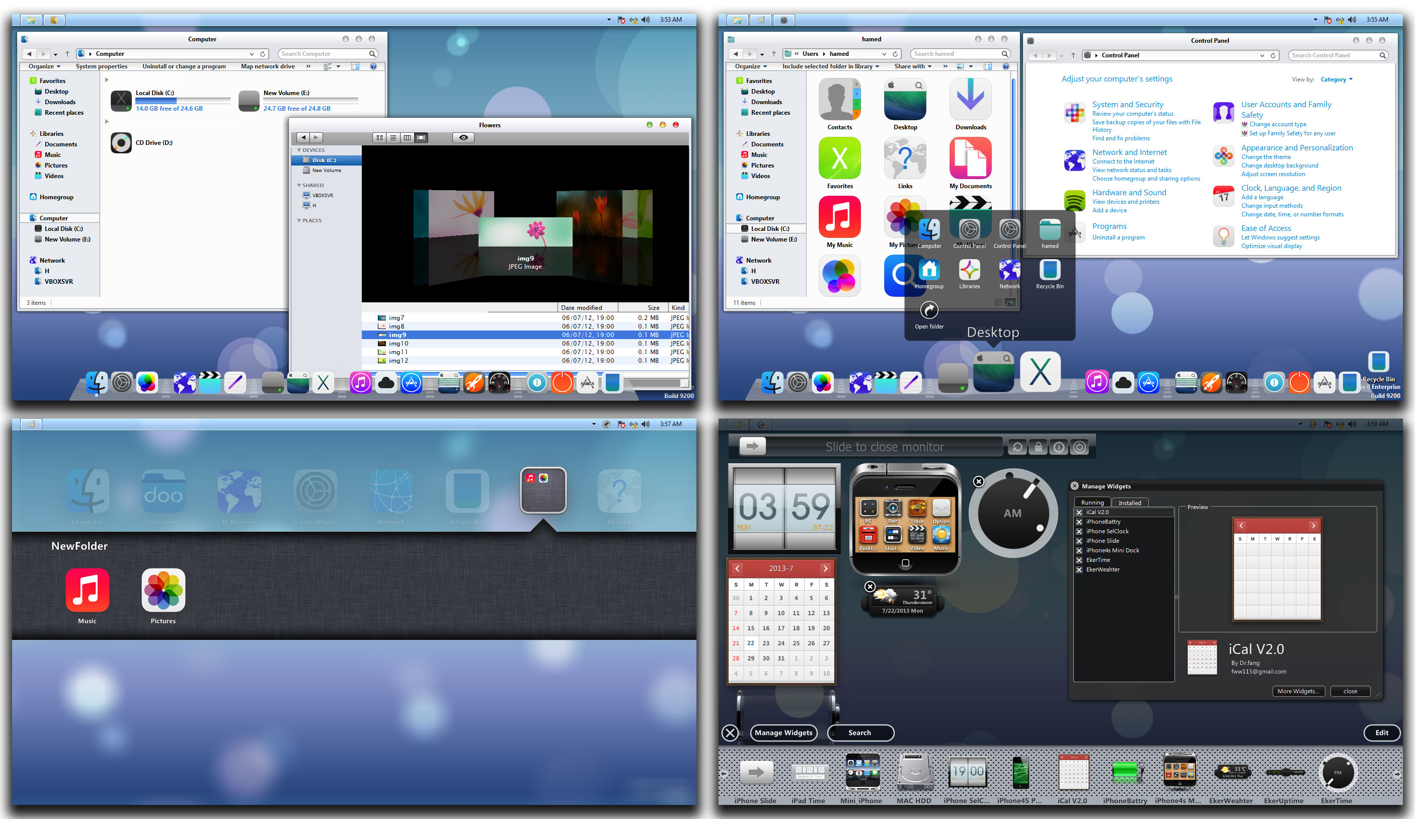 iOS7 Skin Pack for Win8 released