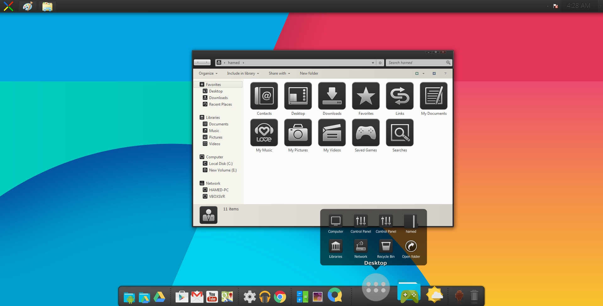 Android Kitkat SkinPack 2.0 for Win8/8.1/7 released