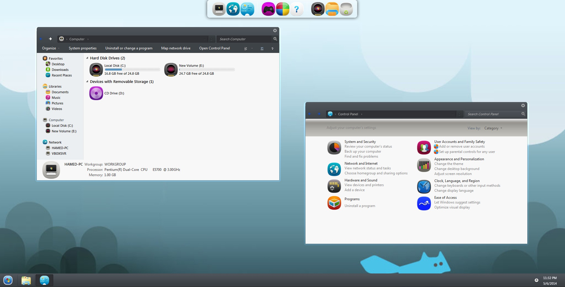 MeeGo Skin Pack 2.0 for Win7/8/8.1 Released