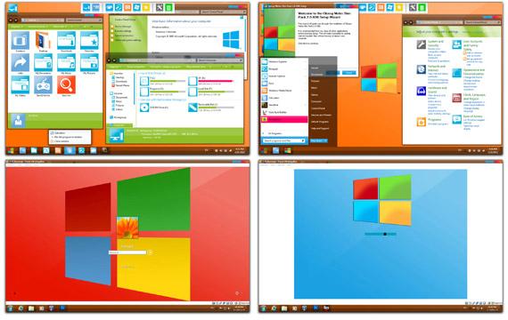 Download Glossy Metro Tile Skin Pack 2.0 Win7