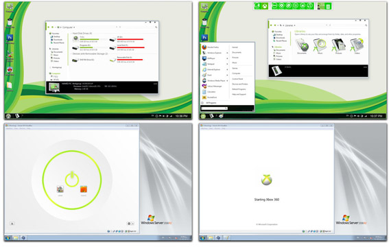 Download Metro Xbox Skin Pack for Win7
