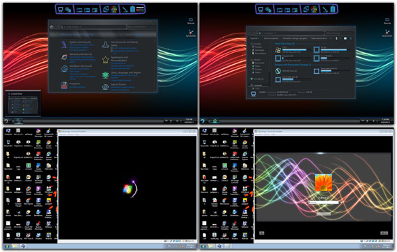 Download Neon Skin Pack 1.0 for Win7