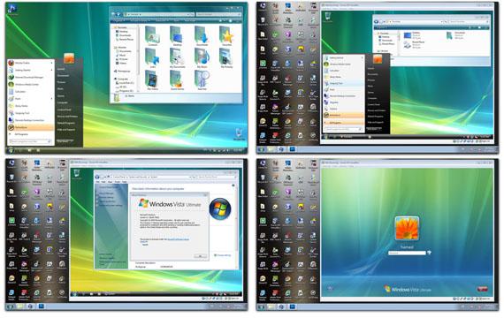 Download Vista Skin Pack 1.0 for Win7