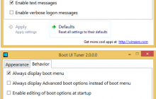 Boot Ui Tuner 2 for Win8 released