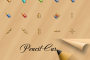 Pencil cursor pack