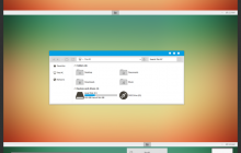 Blue Gray Minimal Theme For Win8/8.1