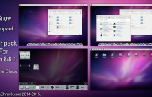 Snow Leopard SkinPack for Win8/8.1 and 7