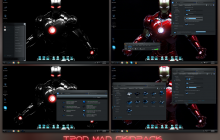 Iron Man SkinPack for Win8/8.1/7