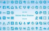 Sticker Blue IconPack