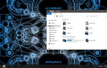 Alienware Invader Blue IconPack for Win7/8/8.1/10