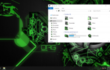 Alienware Invader Green IconPack for Win7/8/8.1/10