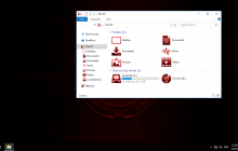 Gradiente RED IconPack for Win7/8/8.1/10