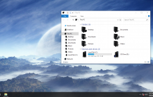 Rise of the Primes Blue IconPack for Win7/8/8.1/10