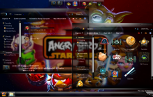 Angry Birds StarWars2 Skin Pack for Win7