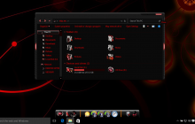 Alienred SkinPack for Win10 released