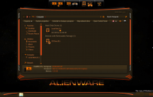 Alienware Dark SkinPack for Win7