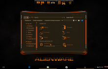 Alienware Dark SkinPack for Win10/7