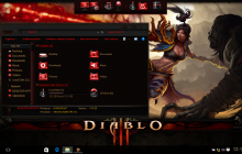 Diablo SkinPack for Win10 released