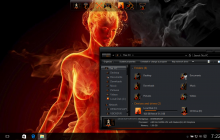 Fire SkinPack for Win10 released