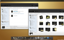 Gold OSX SkinPack for Win7
