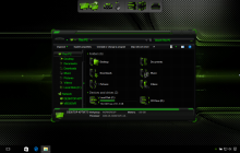 HUD Green SkinPack for Win10 released