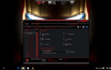 IronMan SkinPack for Win10 released