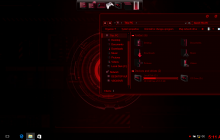 Jarvis red SkinPack for Win10/8.1/7