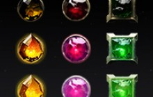 Orbs in Dota2 Three Spirits style