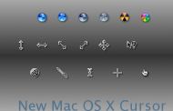 Mac OS X Cursors for windows vista