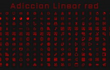 [IconPack] Adiccion linear Red