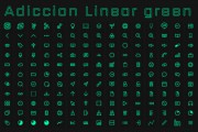 [IconPack] Adiccion linear Green