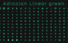 [IconPack] Adiccion linear Green