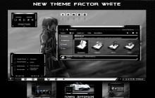 New Theme Factor white para for Windows 7