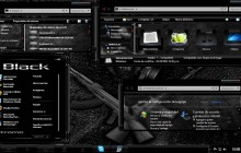 Black Glass for Windows 7