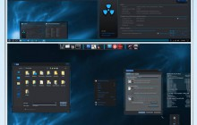 Caustic Blue X for Windows 10 RS1