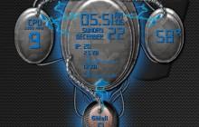 Brain Interactive Construct - Blue - for Rainmeter