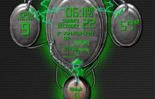 Brain Interactive Construct - Green - for Rainmeter