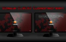 Digital L.E.D Logon screen