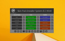 SkinPack Installer System for Win8.1 and 7 released