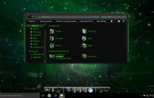 Alienware Green SkinPack for Windows 7\8.1\10 19H1 19H2 20H1