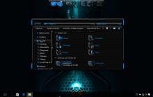 HUD Blue SkinPack for Windows 7\8.1\10 19H1 19H2 20H1