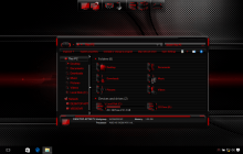 HUD Red SkinPack for Windows 7\8.1\10 19H1 19H2 20H1