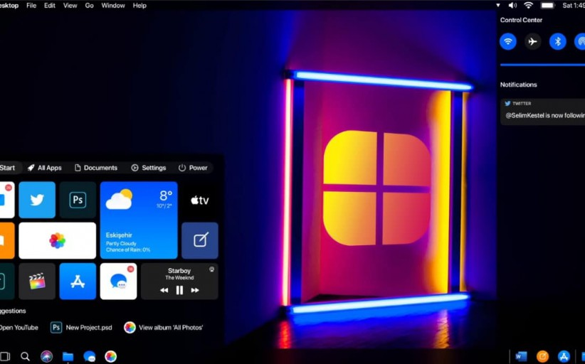 If Apple Created Windows 10