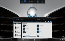 Alienware White SkinPack for Windows 7\8.1\10 19H2