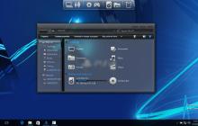 Play Station SkinPack for Windows 7\8.1\10 19H2