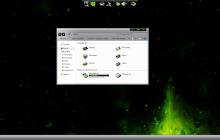 LightMatter Green SkinPack for Win7/10 19H2