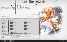 SAO SkinPack for Windows 7\8.1\10 19H2
